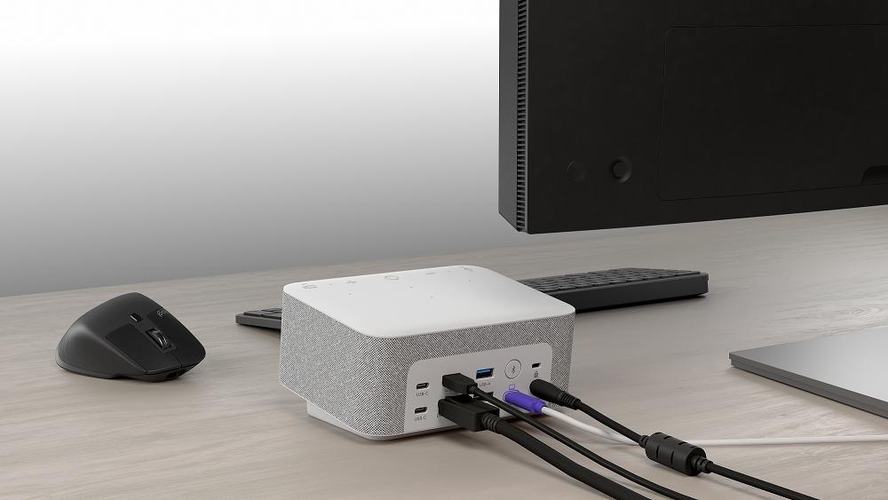 Logi Dock, la solución de Logitech a las mesas llenas de cables