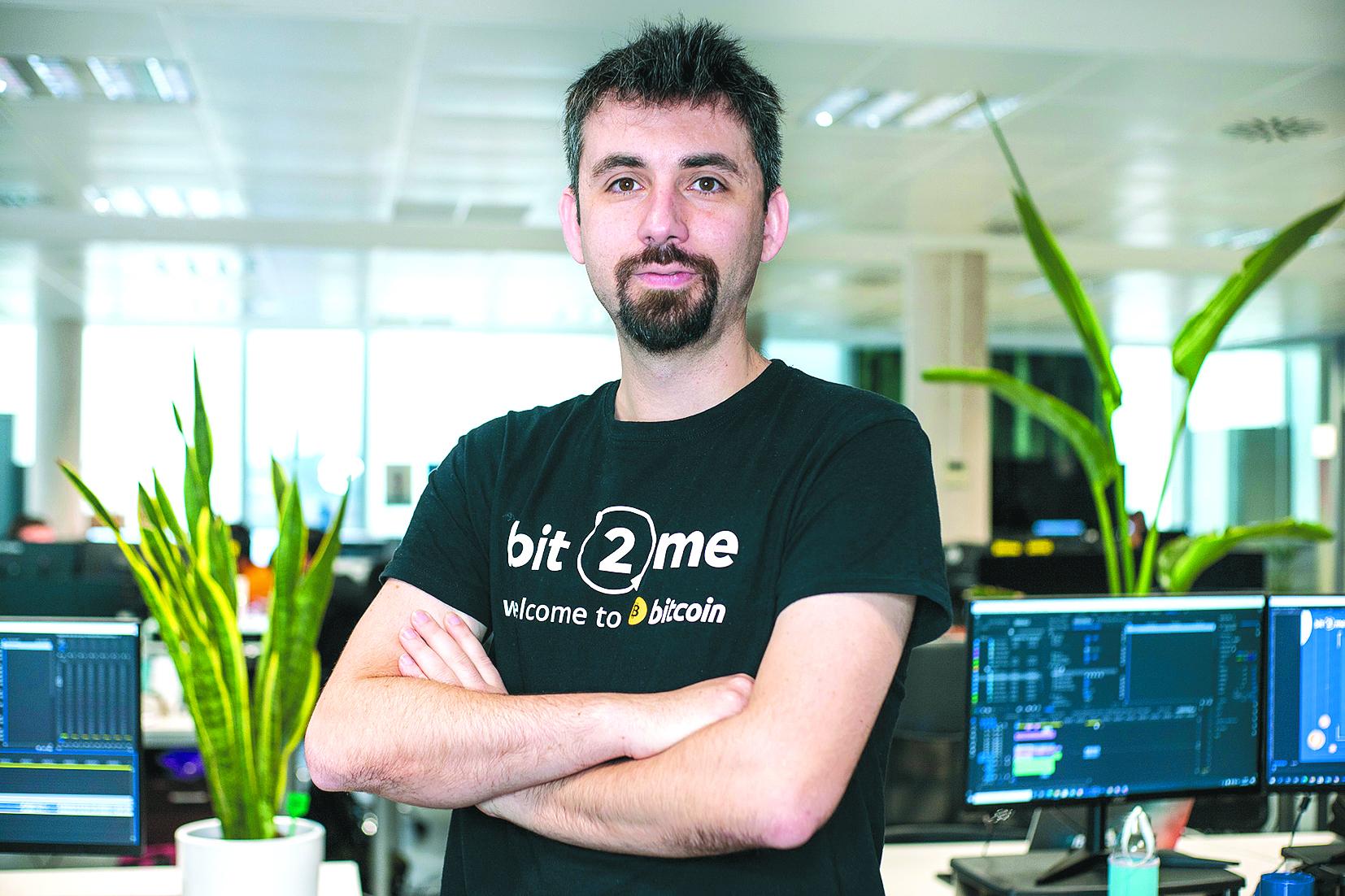 Leif Ferreira. Cofundador y CEO de Bit2Me.