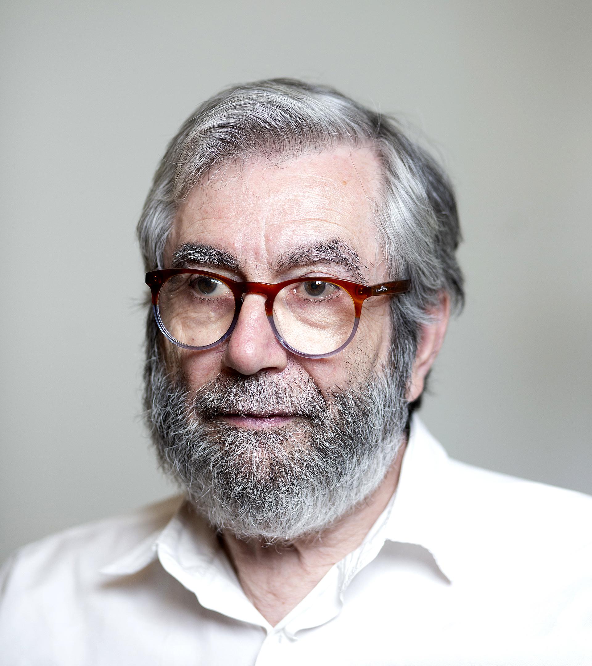 El escritor y académico Antonio Muñoz Molina.