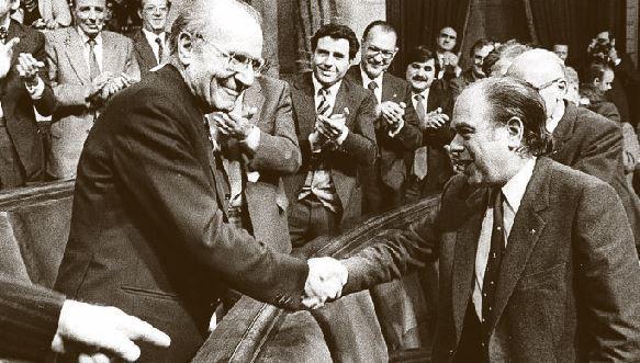 """Heribert Barrera, el líder separatista que decía que """"la inmigración es la principal  amenaza de Cataluña"""" y al que hoy homenajea JxCat"""
