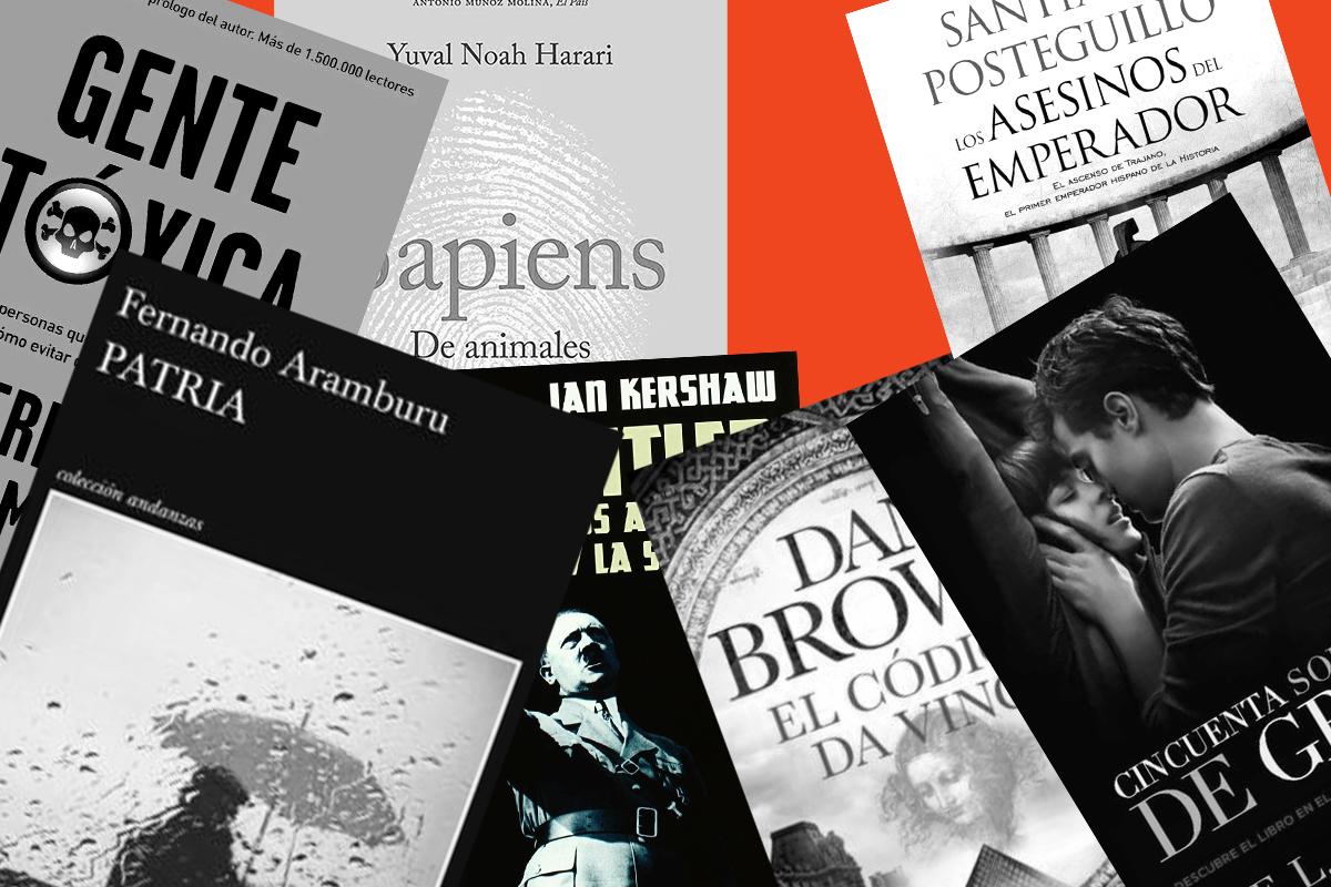 Feria del libro: de Antonio Gala a 'Sapiens', cómo ha cambiado la lista de los best sellers en el siglo XXI