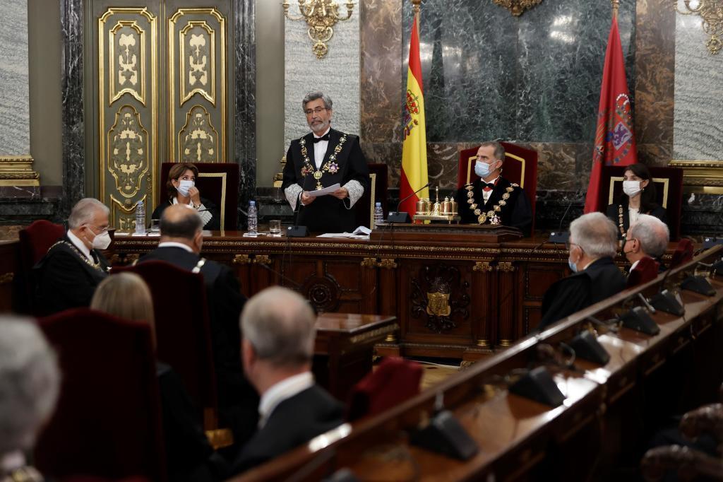 Acto de apertura del Año Judicial en el Tribunal Supremo en Madrid, el pasado 6 de septiembre.