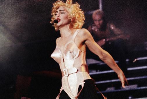 Madonna, la ambición rubia... que era morena.