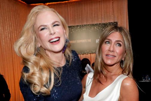 Nicole Kidman y Jennifer Aniston, dos actrices triunfadoras que mantienen vivo el estereotipo de que las rubias tienen éxito...