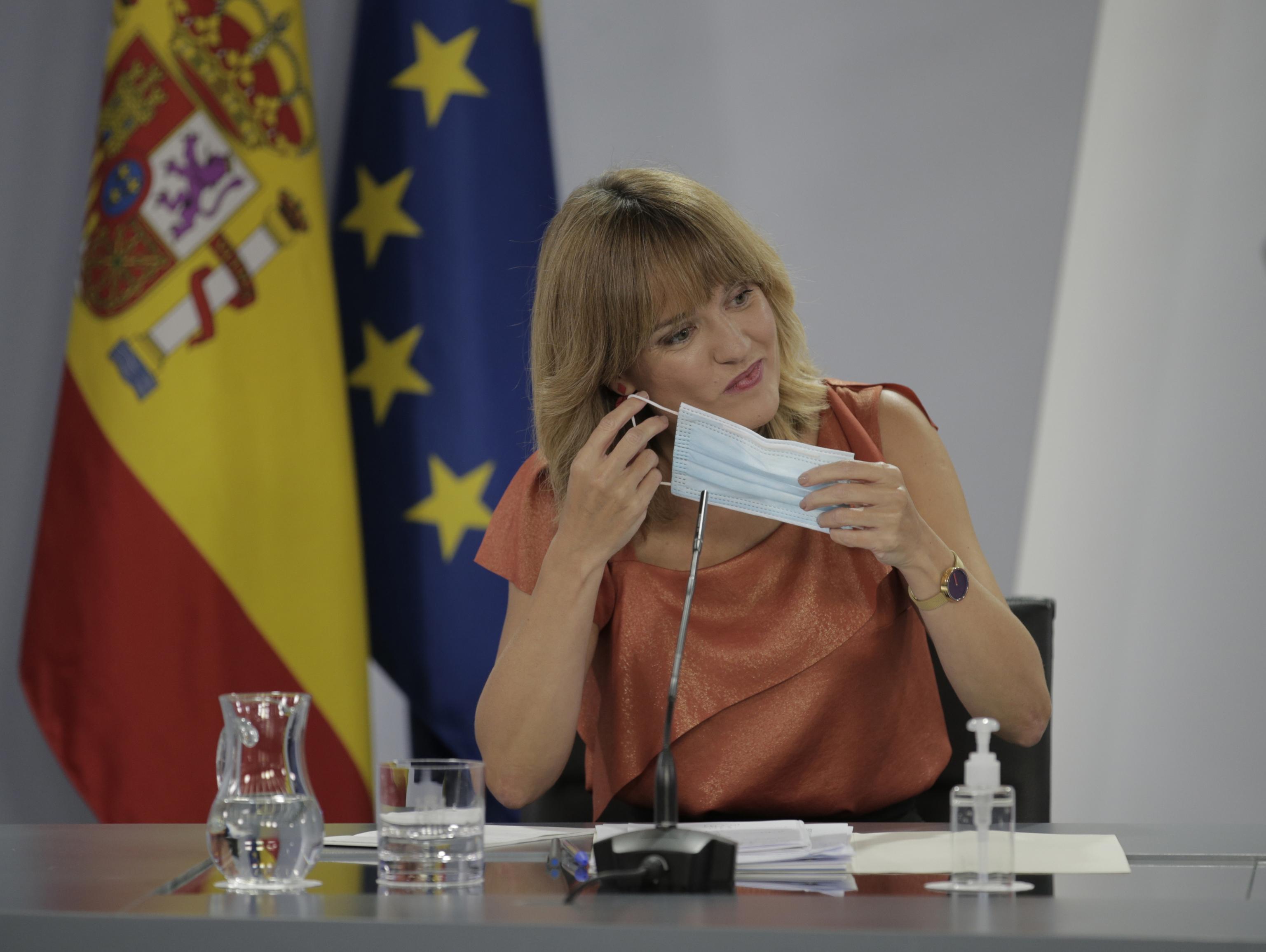 La ministra de Educación y Formación Profesional, Pilar Alegría.