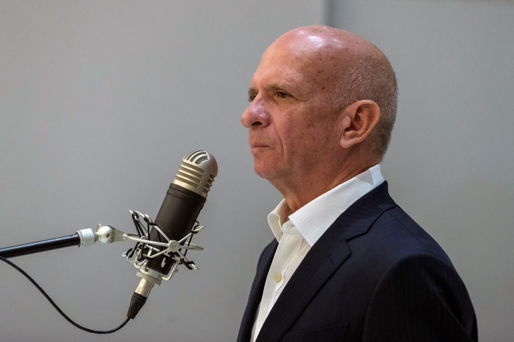 Hugo 'El Pollo' Carvajal, en la Audiencia Nacional en 2019.