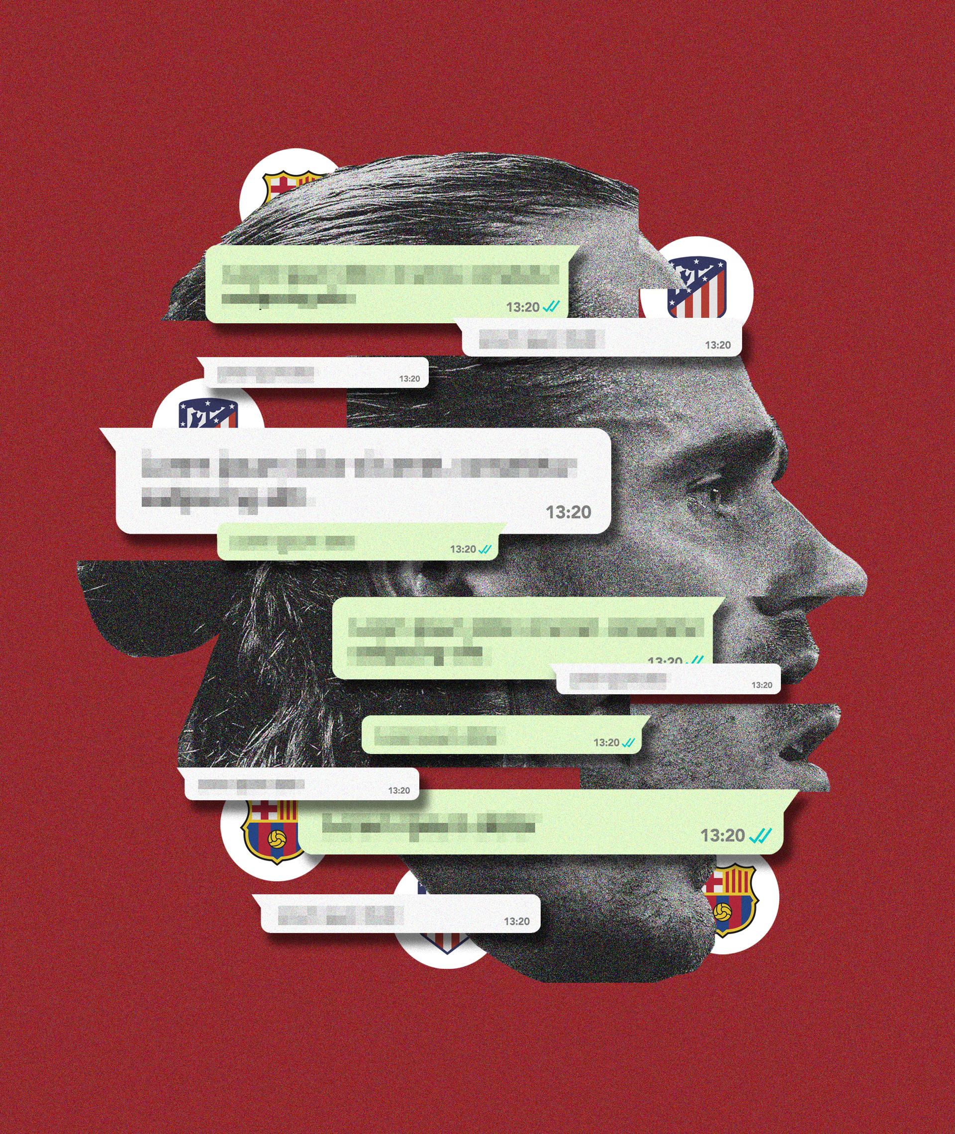 """Un SMS de """"socorro"""", un complot y el 40% menos de sueldo: así fueron las horas frenéticas que devolvieron a Griezmann al Atlético"""
