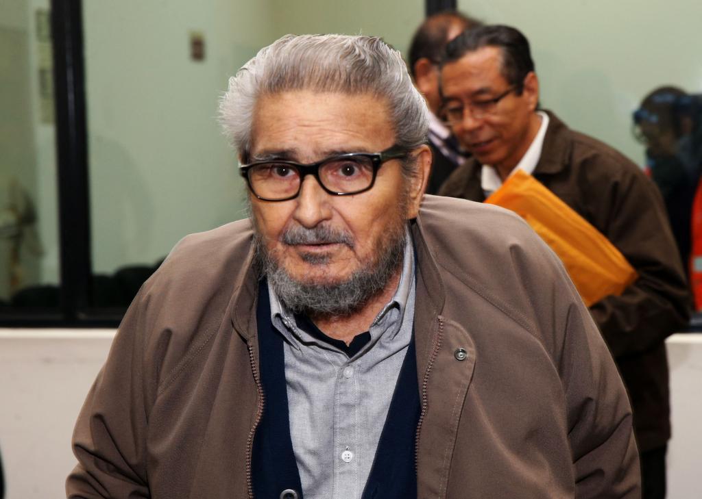 Abimael Guzmán Sendero Luminoso