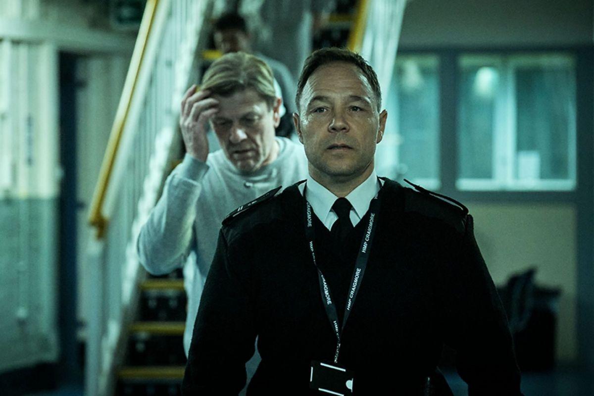 Stephen Graham es uno de los responsables de seguridad de unaprisión.