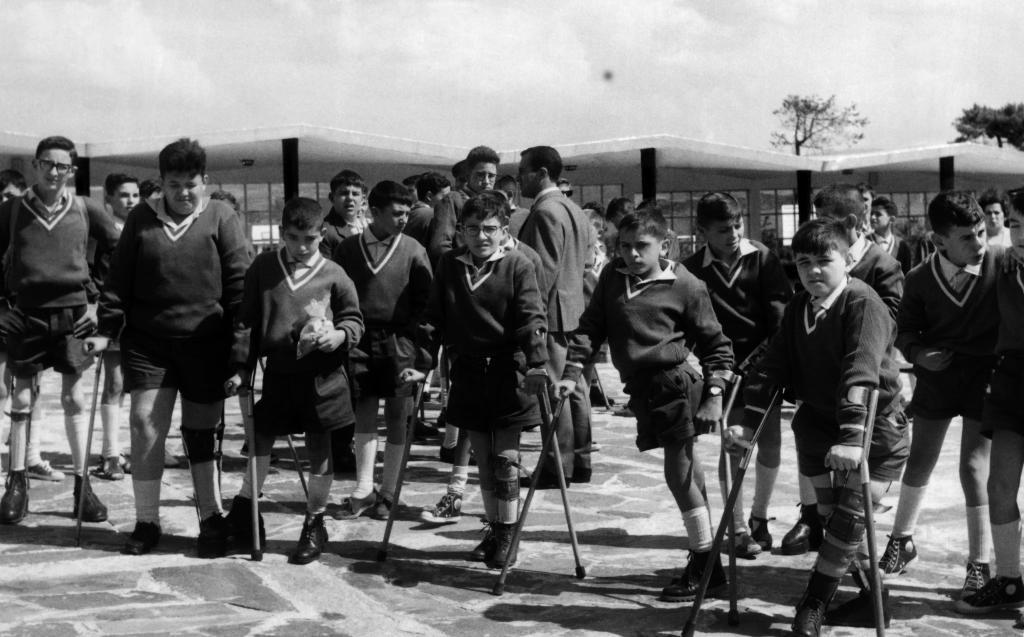 La 'polio' afecto en España a más de 12.000 niños.
