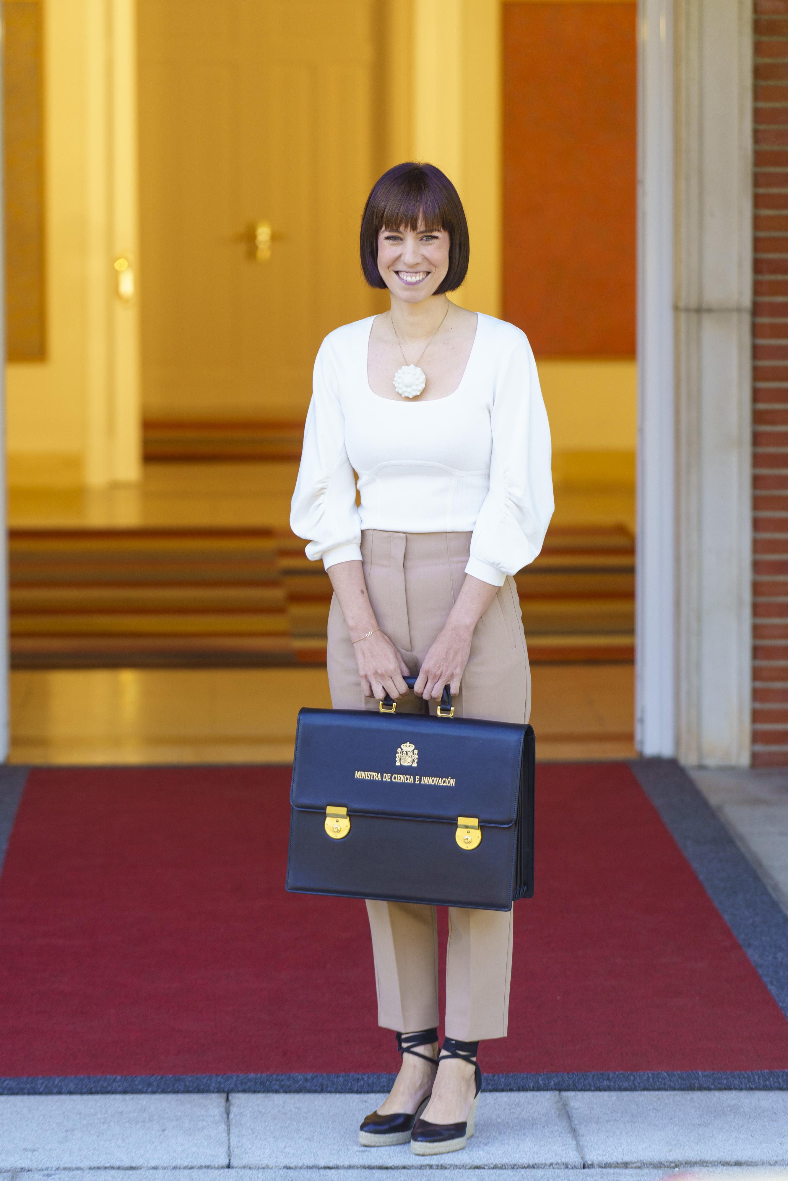 La ministra de Ciencia, Diana Morant, el día que asumió su cargo.