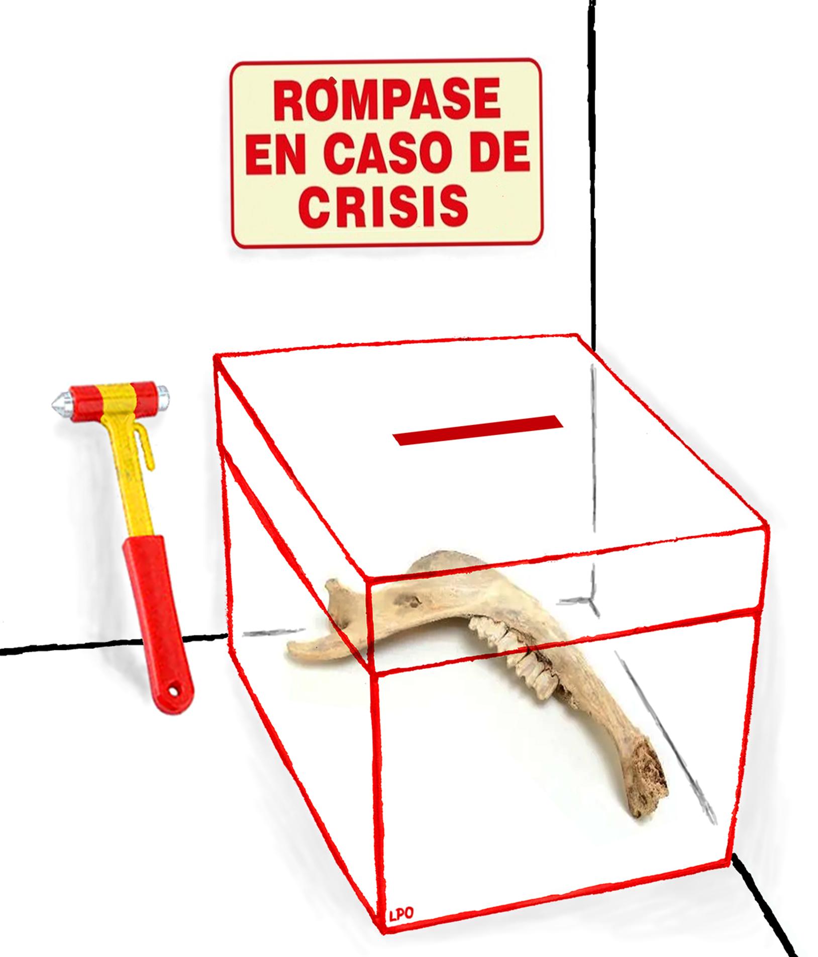 Cómo se fabrica una crisis