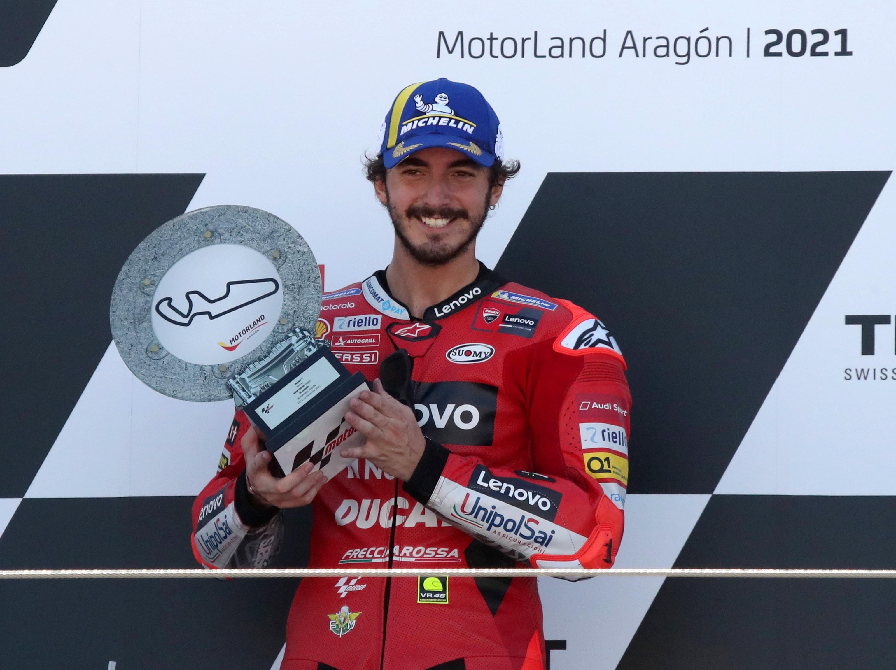 """MotoGP: Los difíciles inicios de Francesco Bagnaia, aspirante al Mundial:  """"Perdí las ganas de ir en moto""""   Motociclismo 2021"""