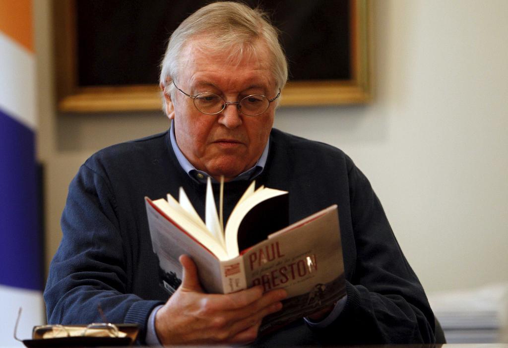 El historiador Paul Preston.