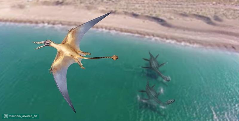 Descubren los restos de un dragón volador del Jurásico en Chile | Ciencia
