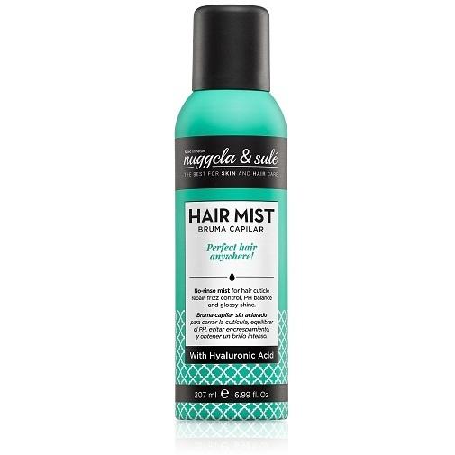 Llega la lluvia... y el encrespamiento: claves para evitarlo y combatirlo: Hair Mist de Nuggela & Sulé.
