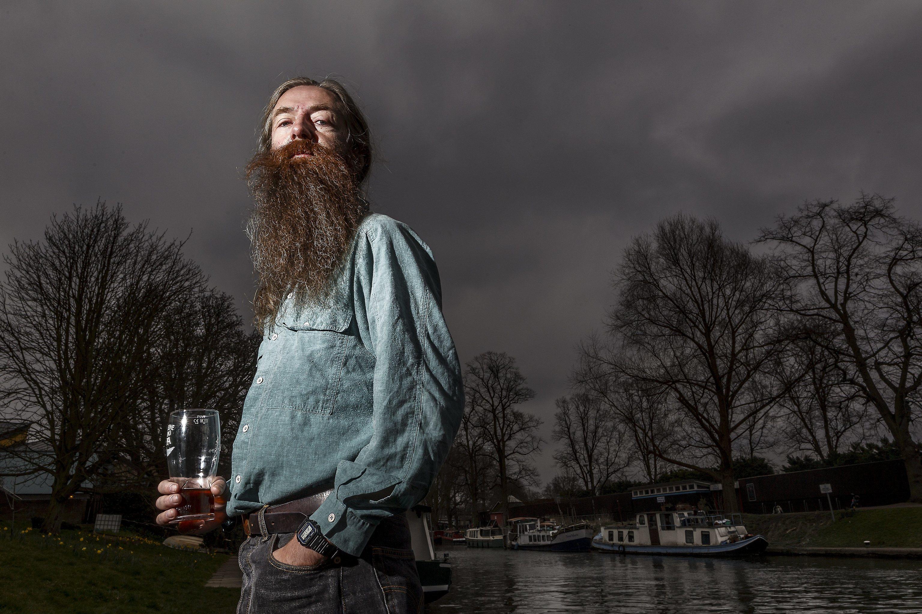 El científico Aubrey de Grey.