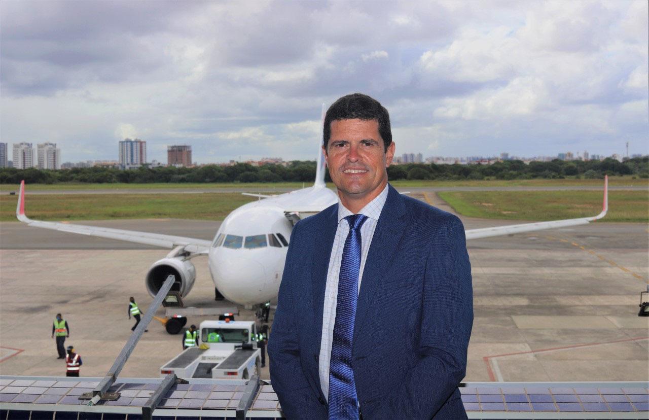 Santiago Yus, el director de Aena Brasil.