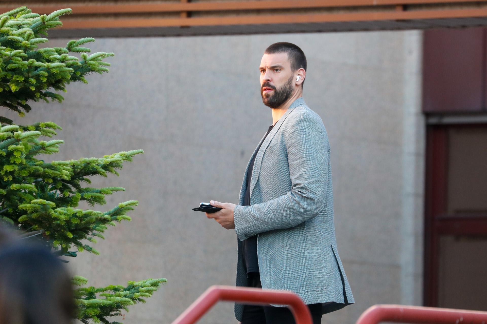 Marc Gasol, el pasado 13 de julio en Madrid.