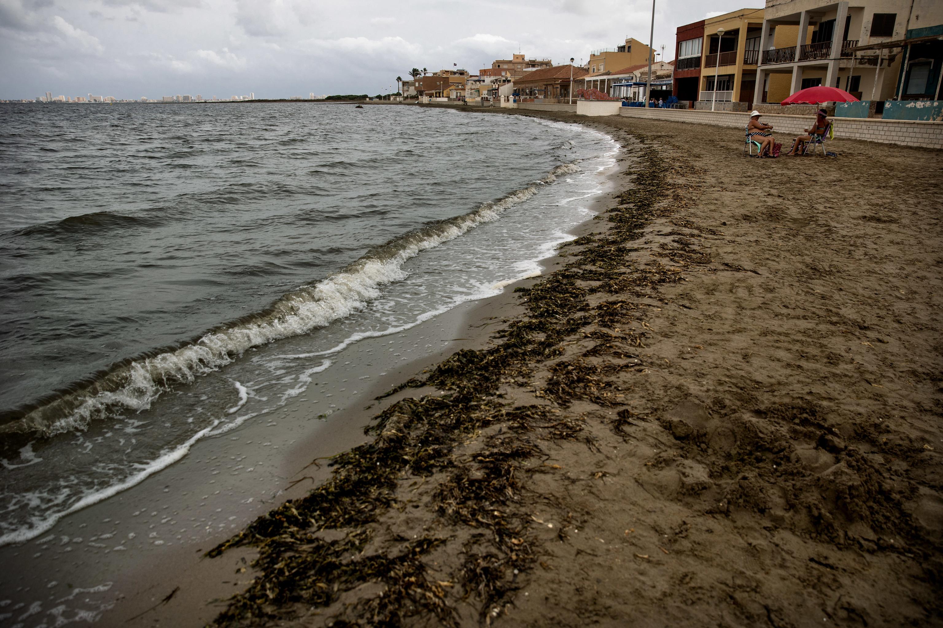 La Playa de 'Los Nietos' en la Manga del Mar Menor