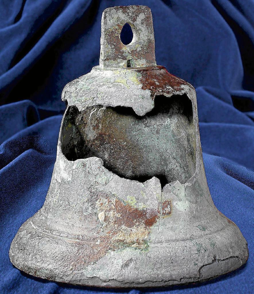 La campana de la Santa María.