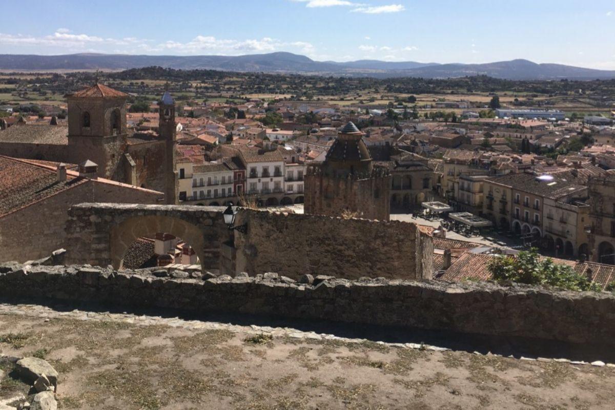 Panorámica de Trujillo desde el Castillo.