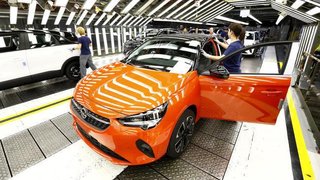 Fabricación del Opel Corsa eléctrico en Zaragoza