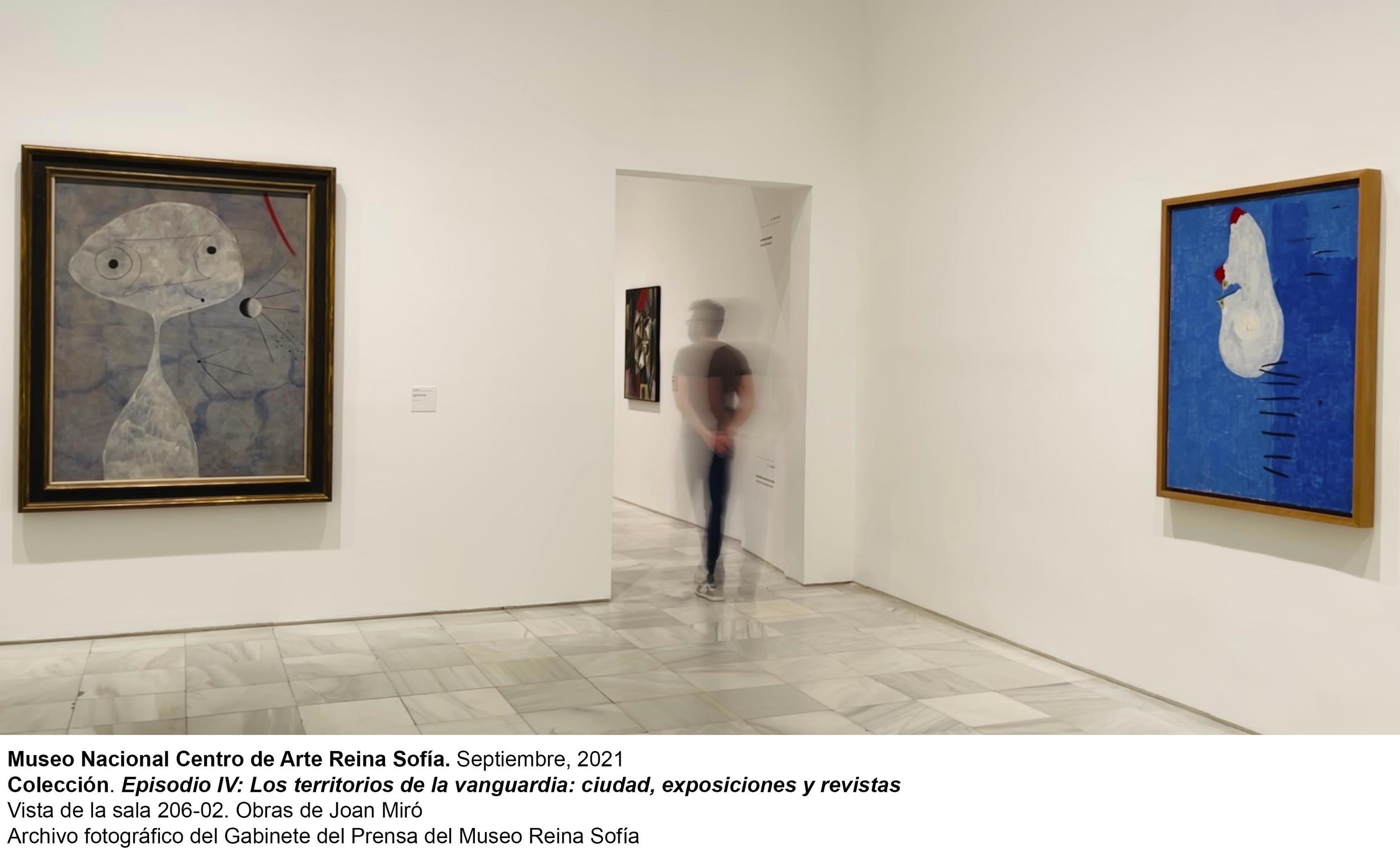 'Los territorios de la vanguardia' , en el Museo Reina Sofía