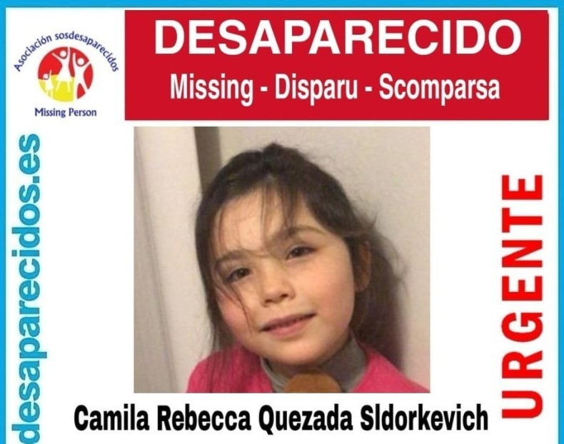 La Guardia Civil pide ayuda para encontrar a una niña de seis años desaparecida en Barcelona