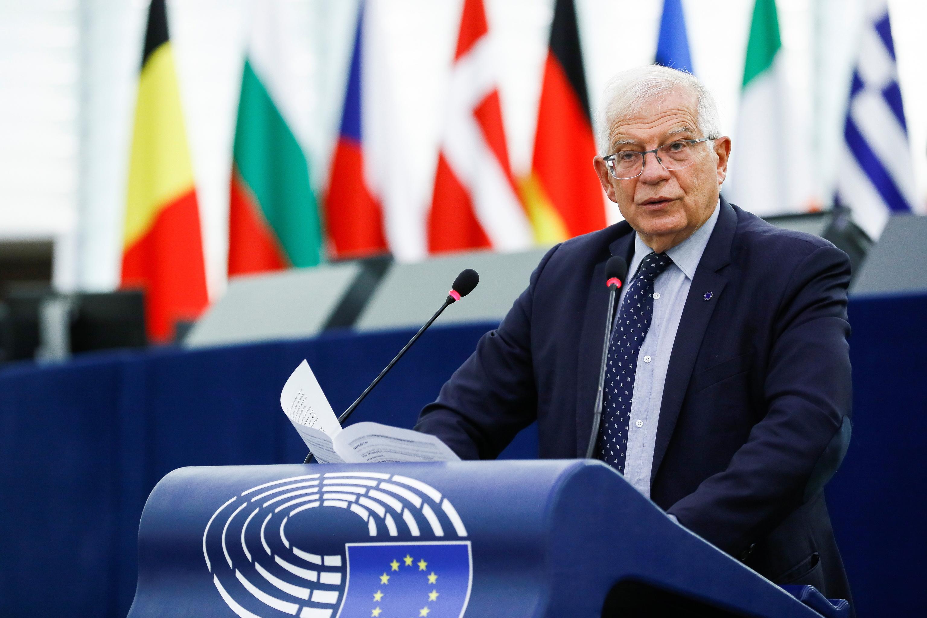 El Alto Representante de la UE para la Política Exterior, Josep Borrell.