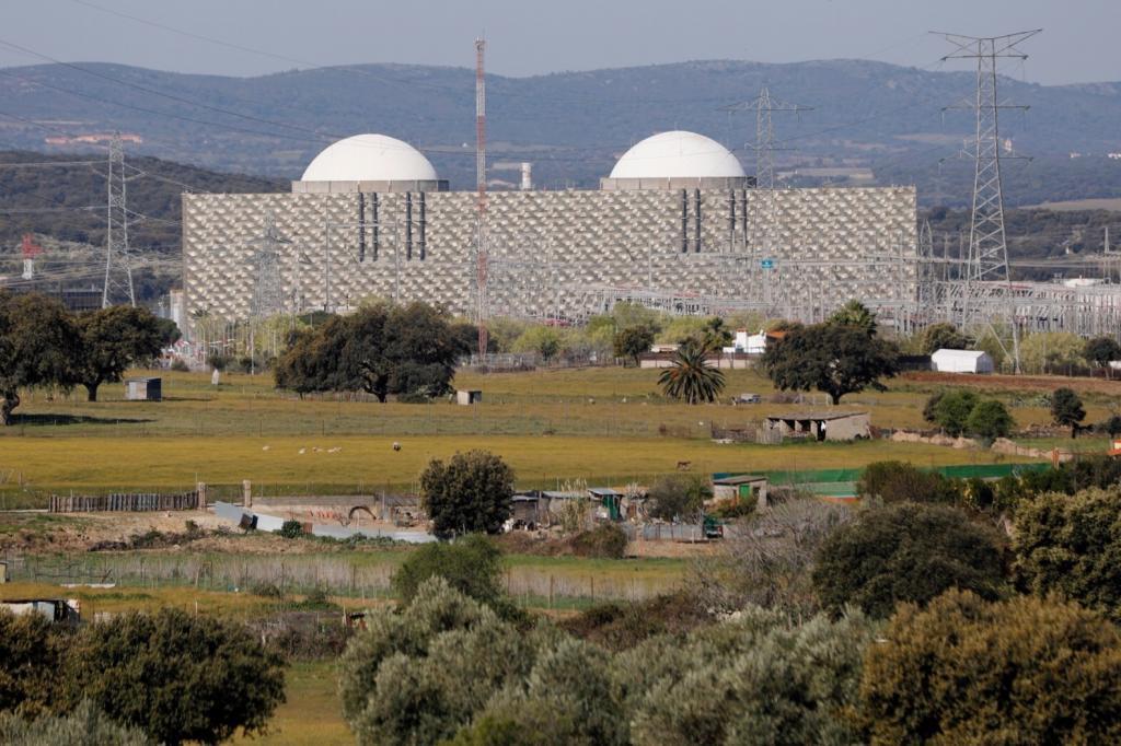 Central Nuclear de Almaraz, en Extremadura.