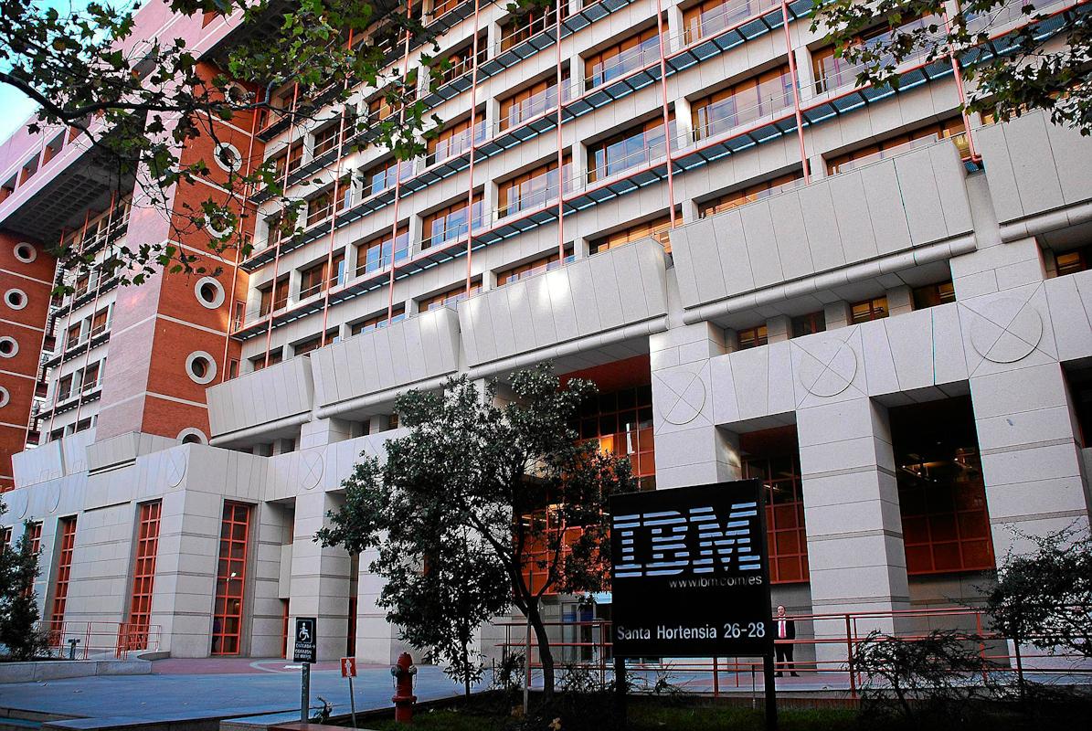 Sede de IBM en Madrid.