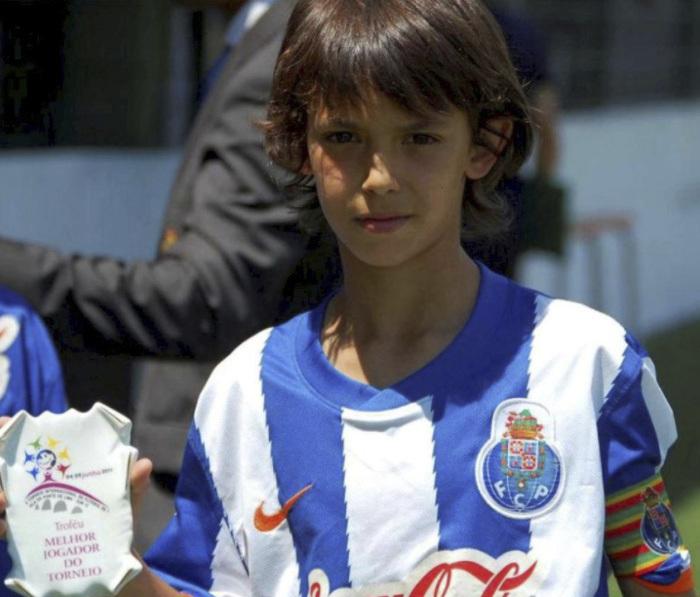 Joao Félix, con la camiseta del Oporto.