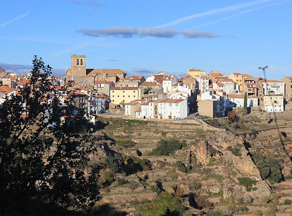 Vistabella, con cerca de 330 habitantes, es el municipio más alto de la provincia de Castellón.