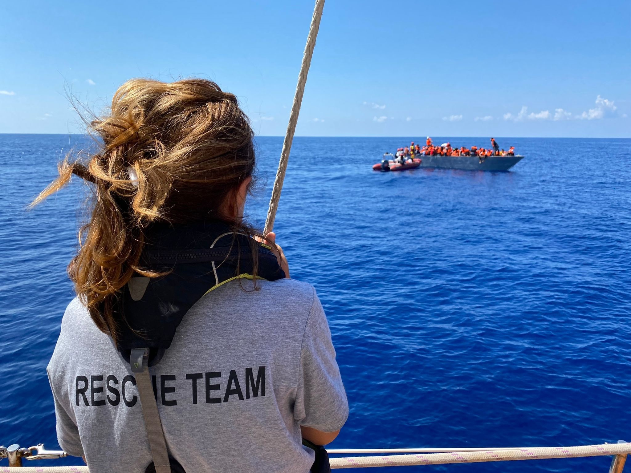 قایق بادبانی اختری سازمان غیردولتی Open Arms.