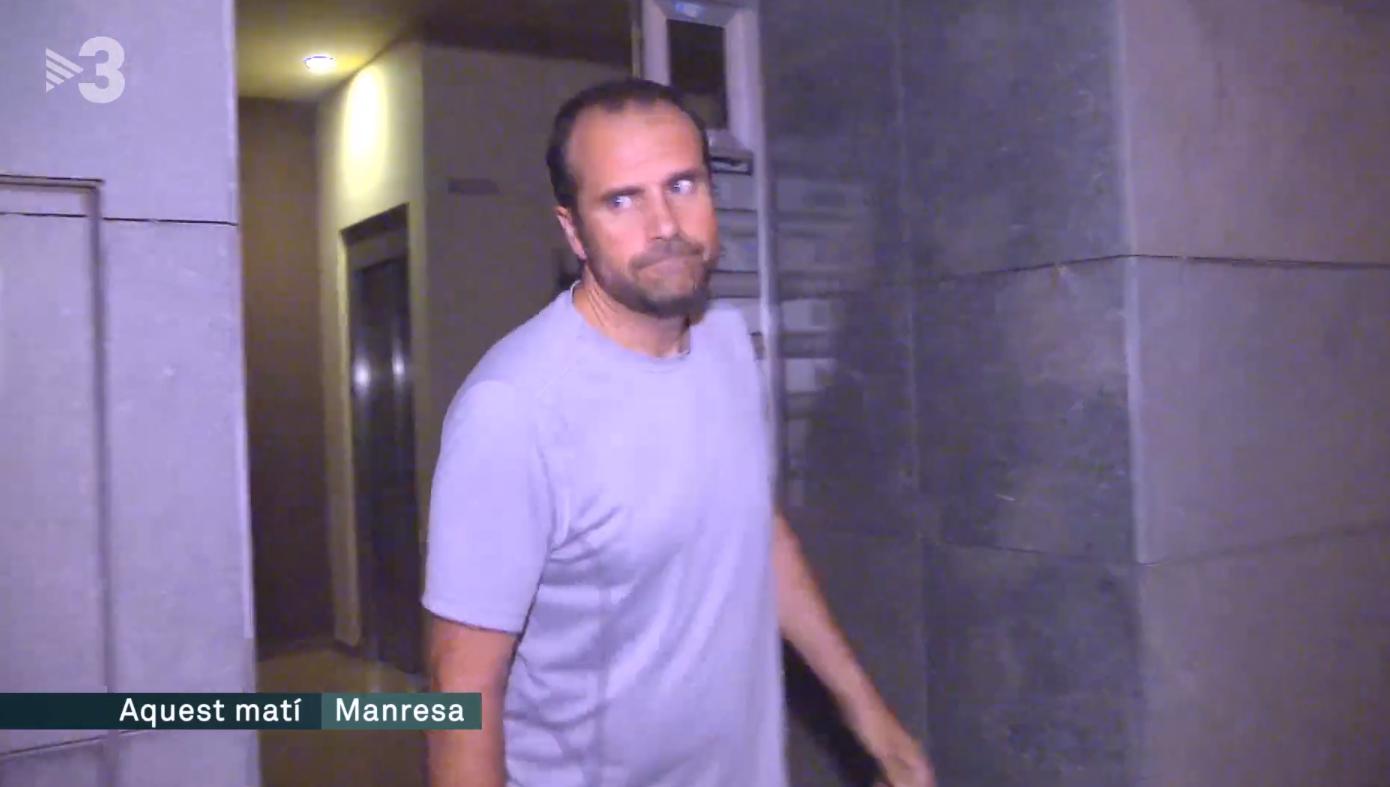 Xavier Novell sale a correr este lunes a las seis de la mañana, en Manresa.