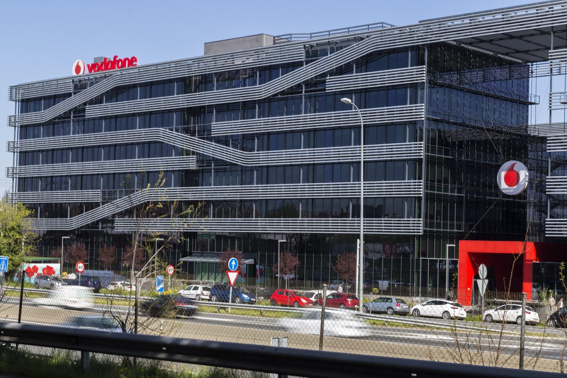 Sede de Vodafone en Madrid.