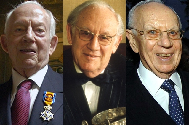 Raymond, Arthur y Mortimer Sackler.