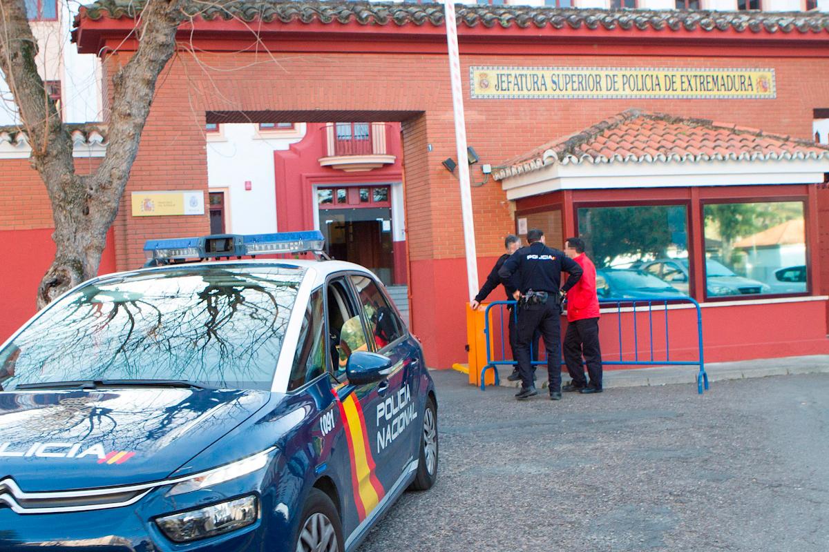 La Comandancia de la Policía Nacional en Mérida.