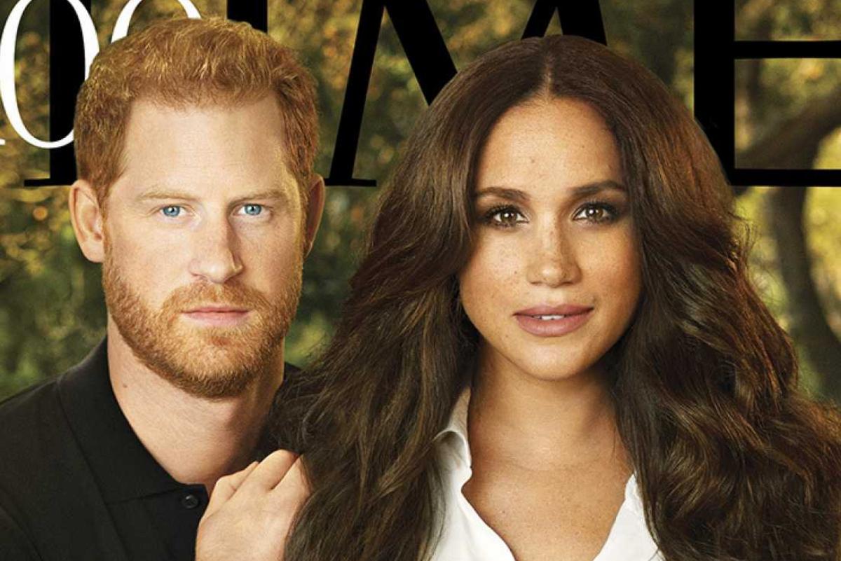 Harry y Meghan Markle, en la portada de 'Time'.