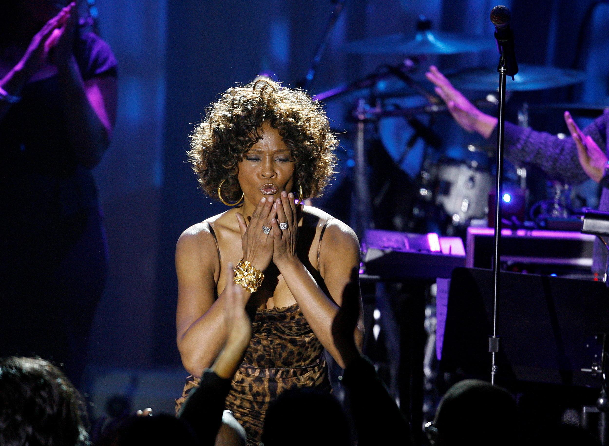 Whitney Houston, protagonista de la cinta original, en una imagen de archivo.