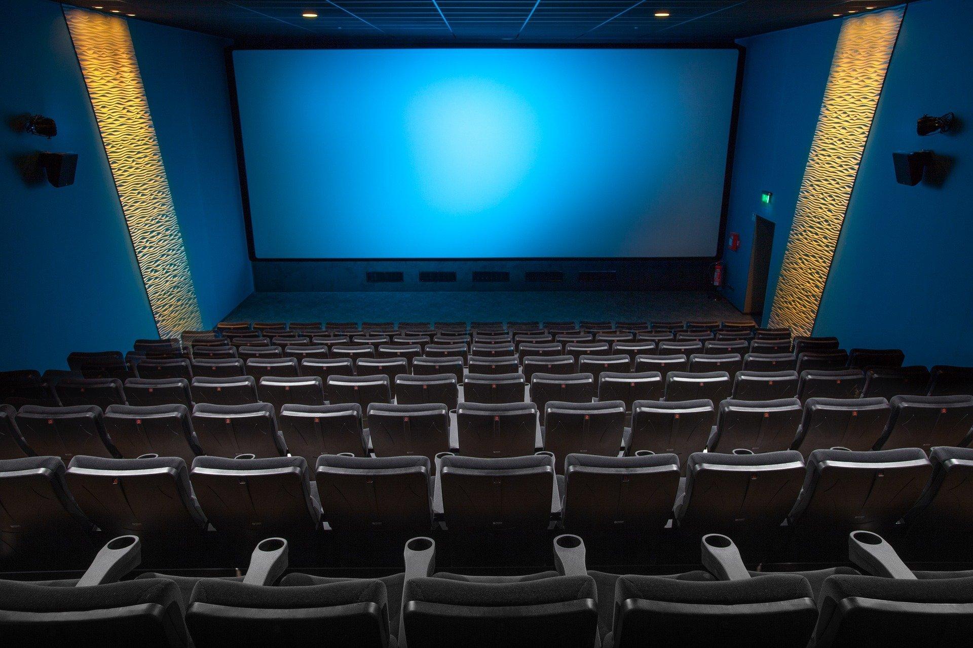 Foto de archivo sala de cine.