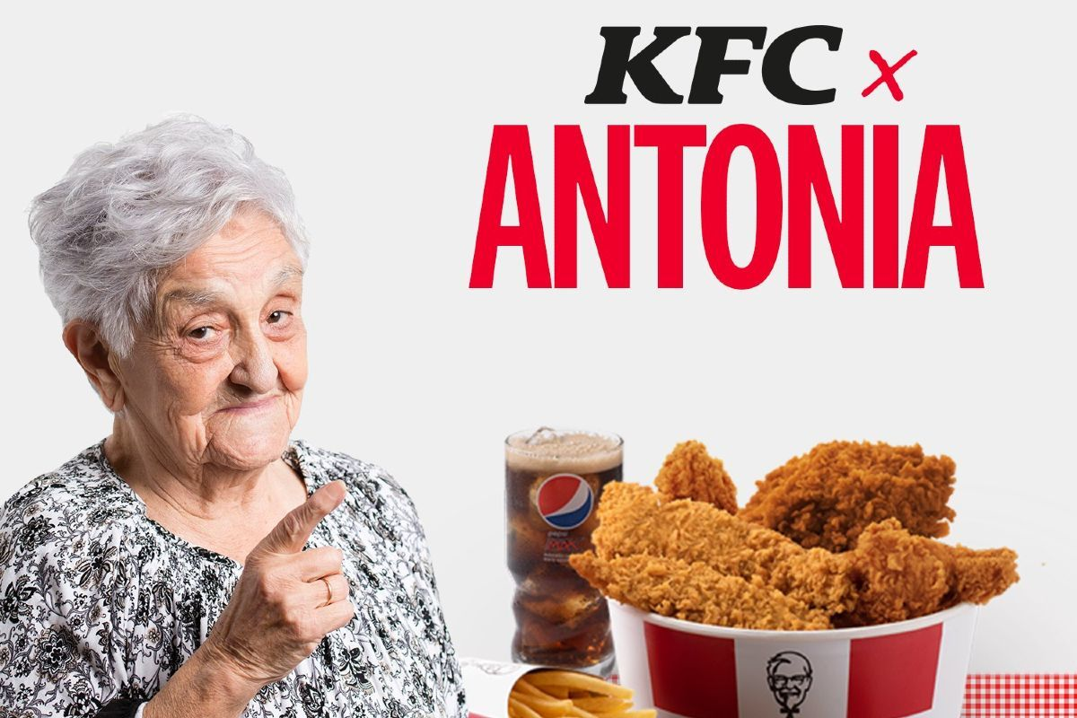KFC trolea a Aitana y lanza su menú Antonia