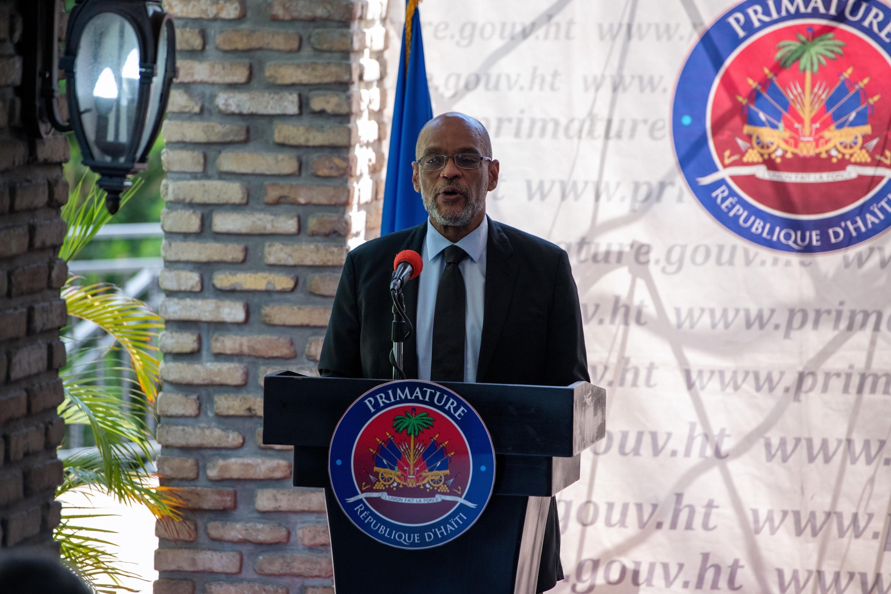 The Prime Minister of Haiti