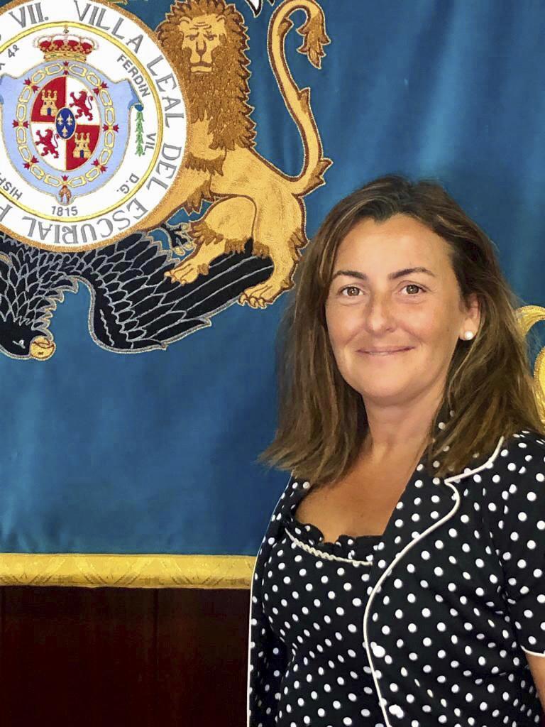 Marta de la Vera, portavoz de Cs en El Escorial.