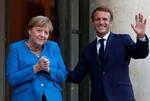 """Merkel se despide de Macron y promete que hará """"lo que esté en su mano"""" para que las elecciones alemanas no bloqueen la UE"""