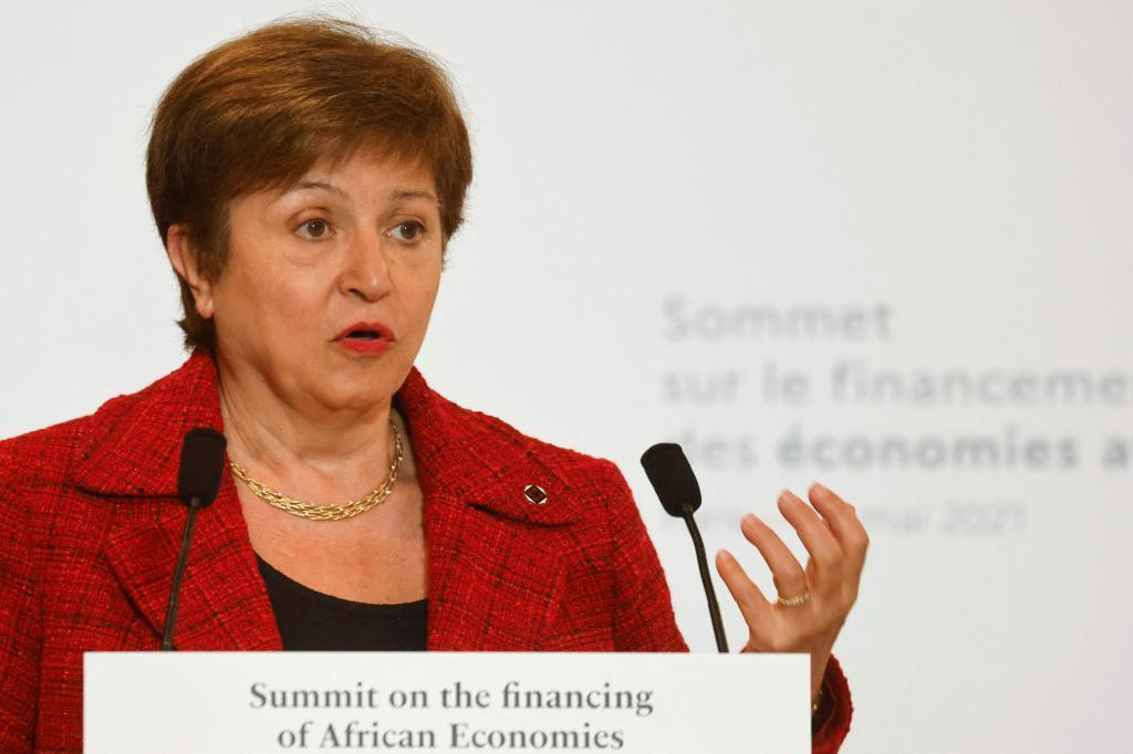 Kristalina Georgieva, actual directora del Fondo Monetario Internacional