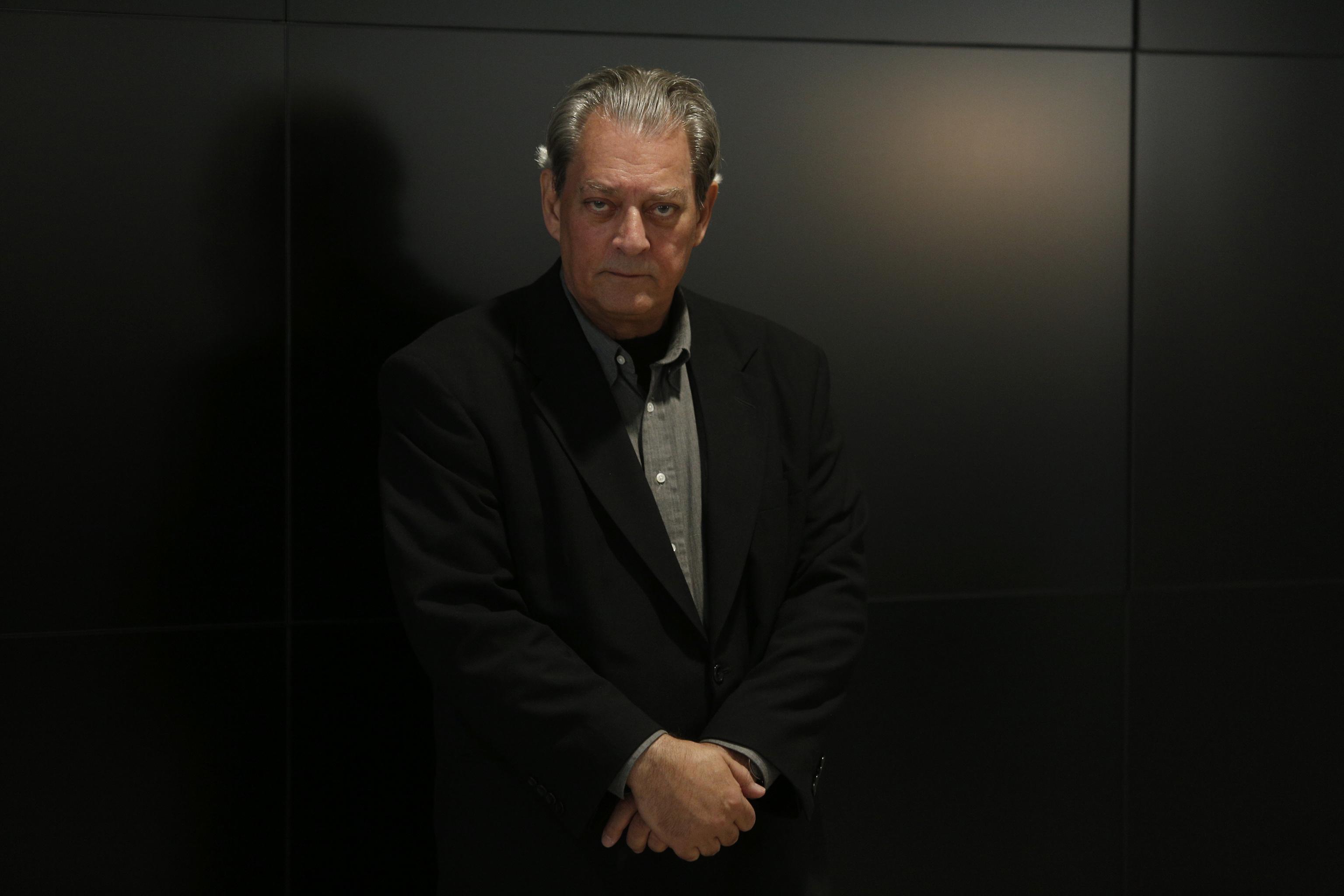 Paul Auster, en Madrid en 2017.