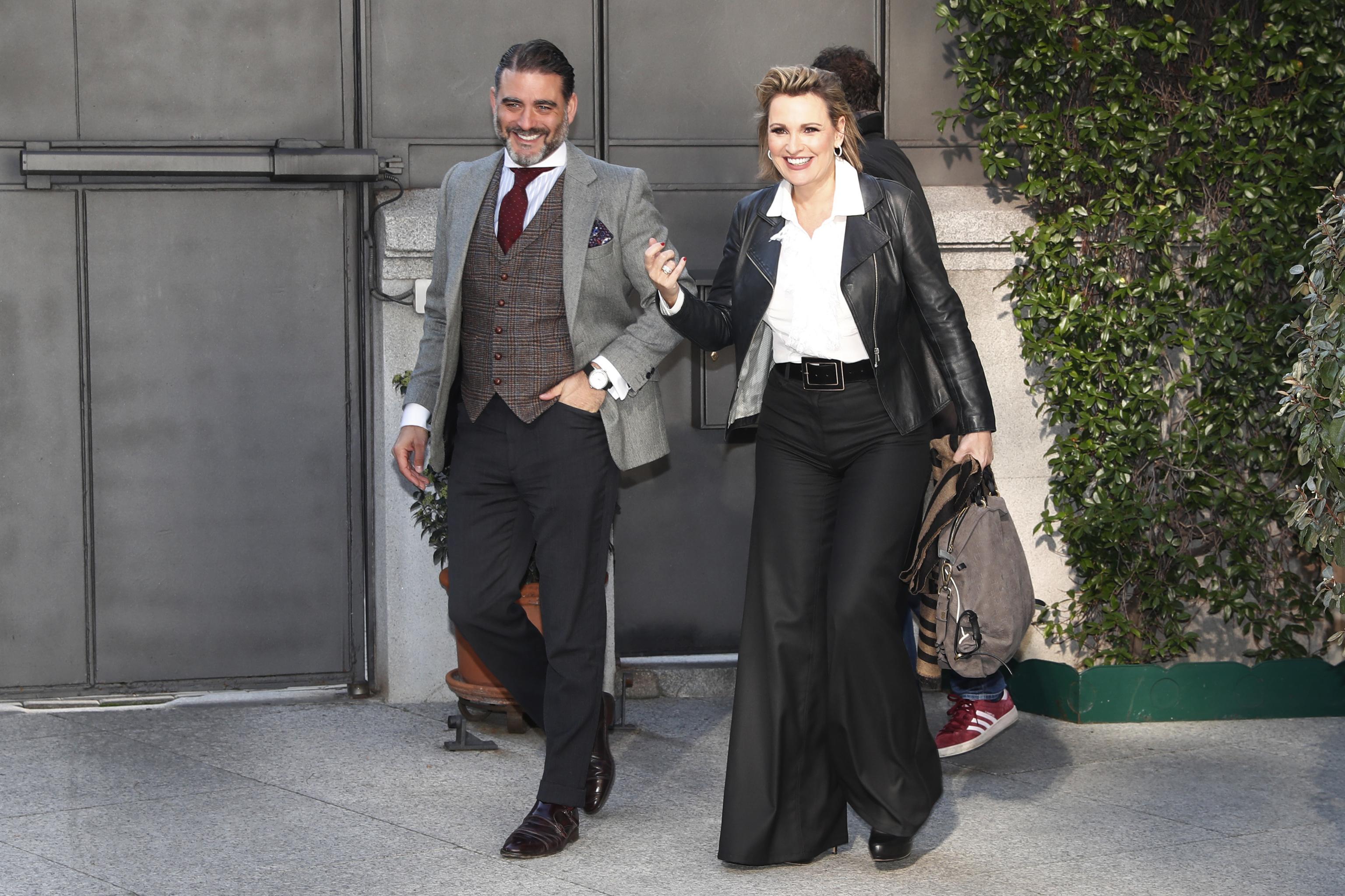 MatÍas Urrea y Ainhoa Arteta en un acto en Madrid.