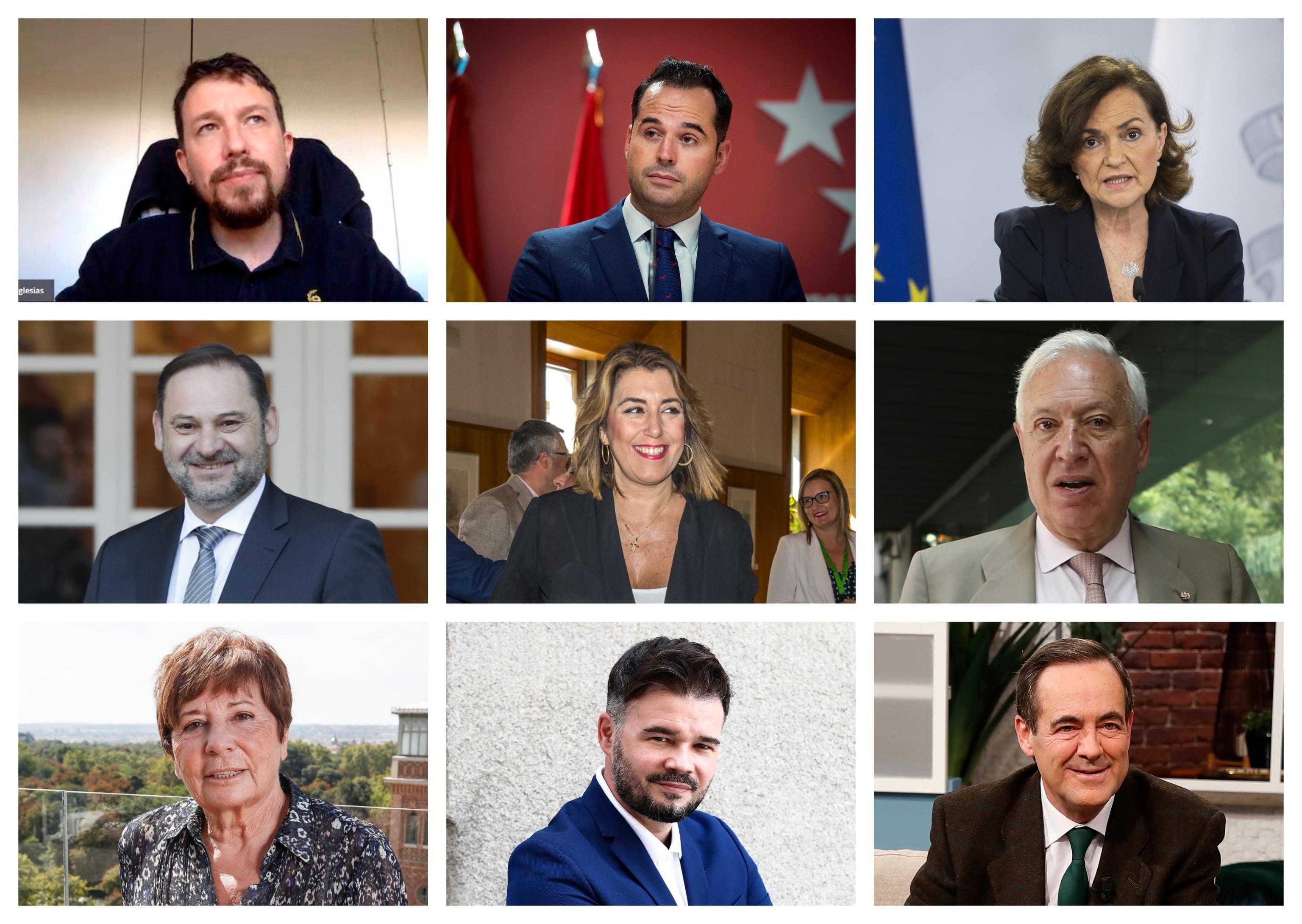 Políticos y ex políticos que son tertulianos